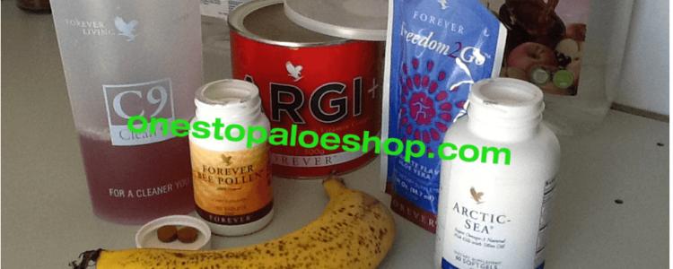 aloe products-freedom2go-Arctic Sea capsules-Bee Pollen $ Argi+
