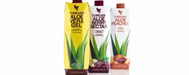image of aloe vera drinks in new tetra 100% recycable packaging